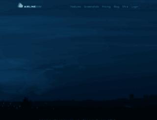 airlinesim.aero screenshot