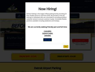airlinesparking.com screenshot