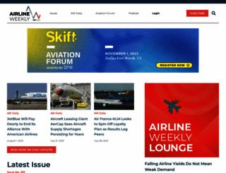 airlineweekly.com screenshot