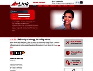airlinkservicesgroup.com.au screenshot