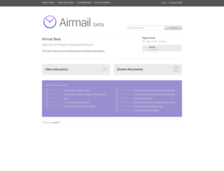 airmail.tenderapp.com screenshot