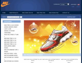 airmax2012shop.com screenshot