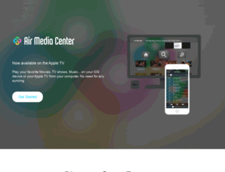 airmediacenter.com screenshot