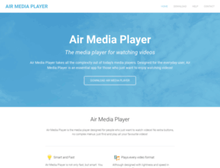airmediaplayer.com screenshot