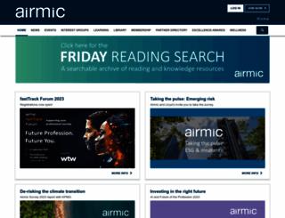 airmic.com screenshot