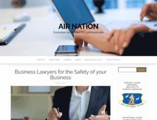airnation.net screenshot