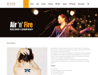 airnfire.com screenshot
