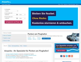 airparks.de screenshot