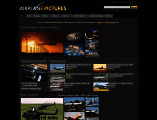 airplane-pictures.net screenshot