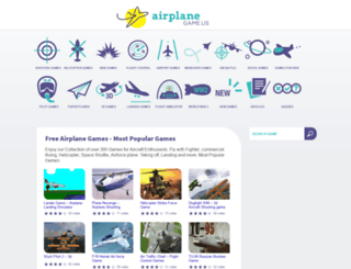 airplanegame.us screenshot