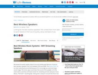 airplay-speakers-review.toptenreviews.com screenshot