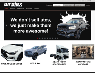 airplex.co.nz screenshot