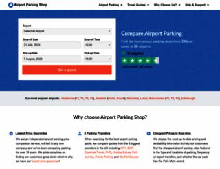 airport-parking-shop.co.uk screenshot