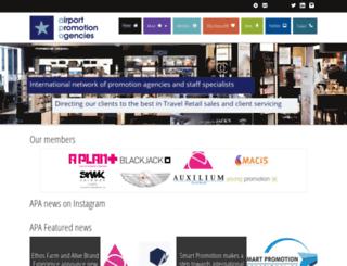 airport-promotion.com screenshot