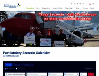 airport.com.pl screenshot
