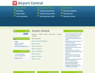 airportcentral.com screenshot