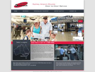 airportconnect.com.au screenshot