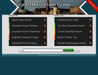 airportdusseldorf.com screenshot
