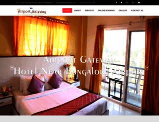 airportgateway.in screenshot