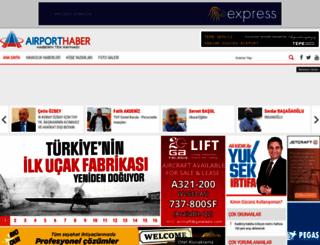 airporthaber.com screenshot
