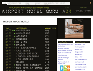 airporthotelguru.com screenshot