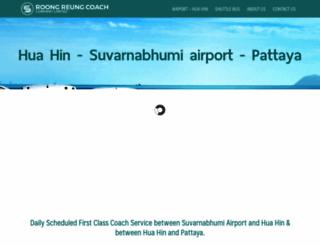 airporthuahinbus.com screenshot