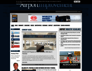 airportimprovement.com screenshot