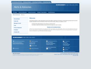 airportinfoalerts.com screenshot