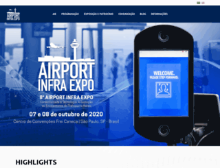airportinfraexpo.com.br screenshot