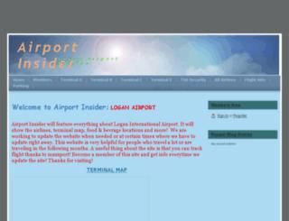 airportinsider.webs.com screenshot