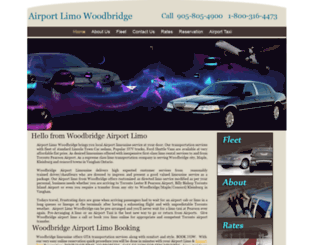 airportlimowoodbridge.com screenshot