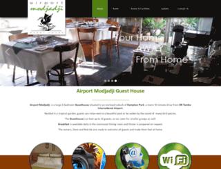 airportmodjadji.co.za screenshot