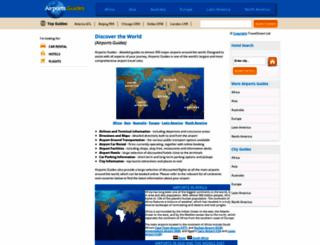 airports-guides.com screenshot
