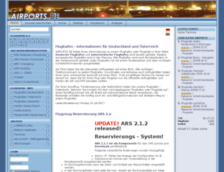airports.de screenshot