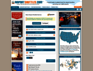 airportshuttles.com screenshot