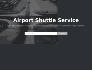 airportshuttleservice.eu screenshot