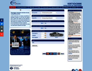 airportstransfer.com screenshot