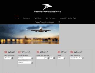 airporttransferistanbul.com screenshot
