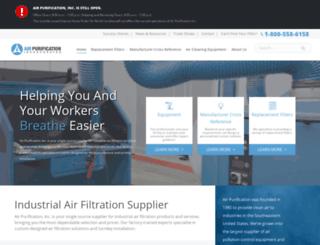 airpurificationinc.com screenshot