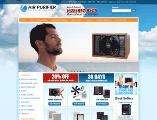 airpurifierrepaircenter.net screenshot