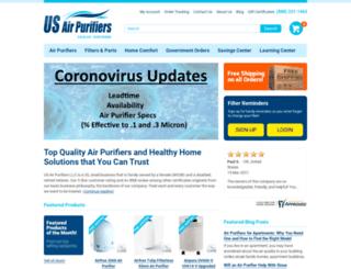 airpurifiersdirect2u.com screenshot