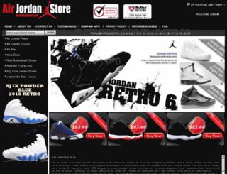 airrealshoes.com screenshot