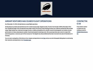 airshipventures.com screenshot
