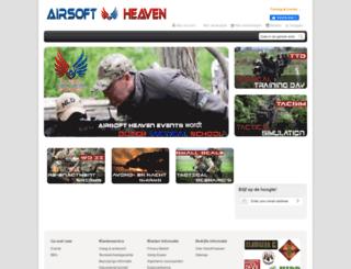 airsoft-heaven.nl screenshot