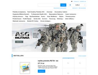 airsoft-militaria.pl screenshot