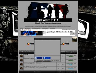 airsoft-tta.superforum.fr screenshot