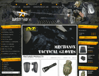 airsoftbay.ie screenshot