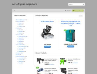 airsoftgearmegastore.com screenshot