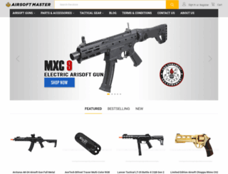airsoftmaster.com screenshot