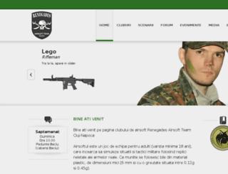 airsoftrenegades.ro screenshot